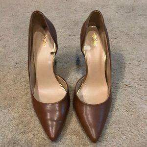 Brown (cognac) pumps, Sz 11